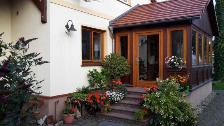Eingang Wintergarten